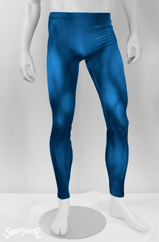 SuperHero Supersuit Superman The Tick Frozone Blue Bodysuit Fantastic Four