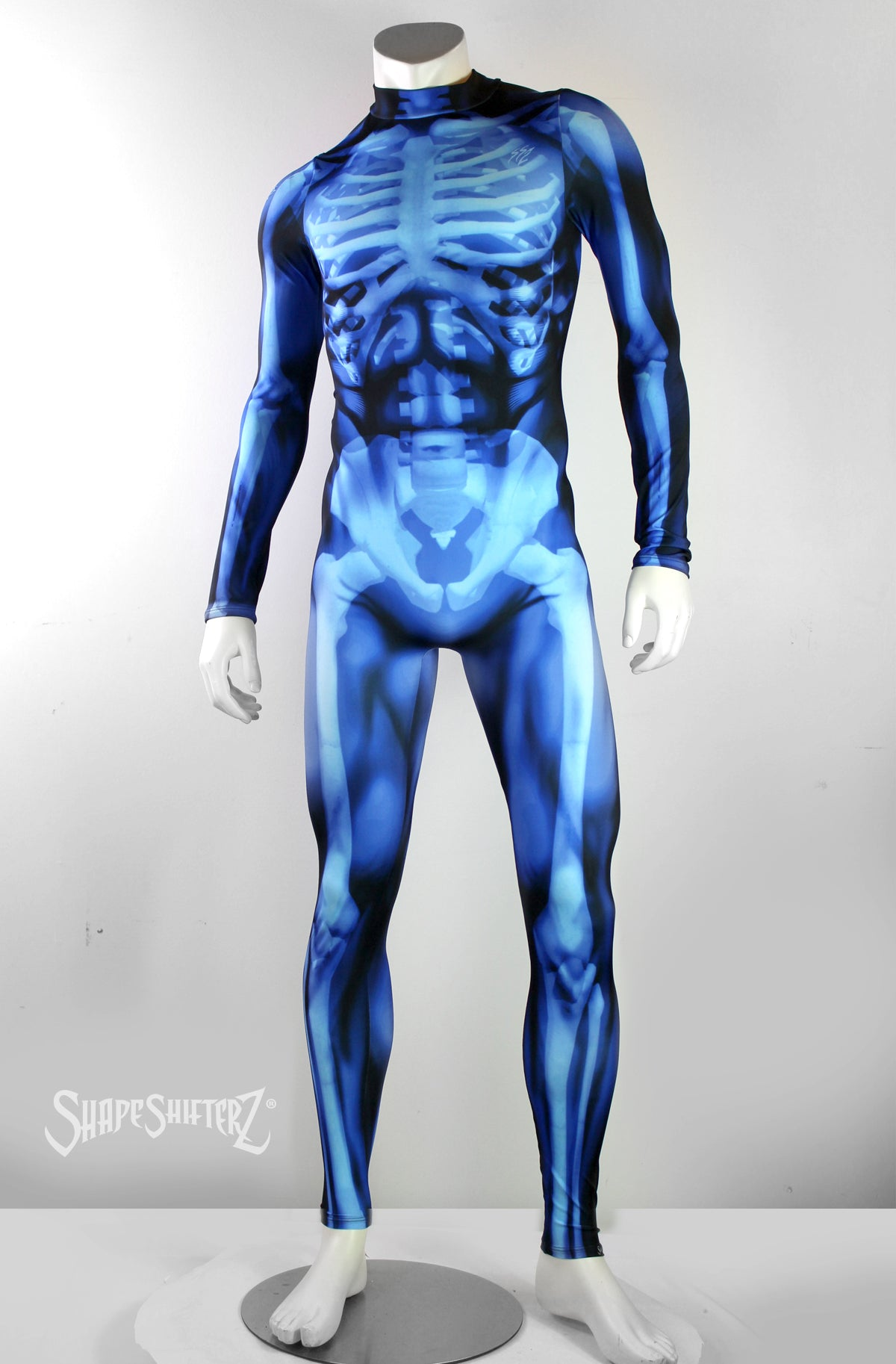 Mens X Ray Performance Bodysuit Sportswearcostume