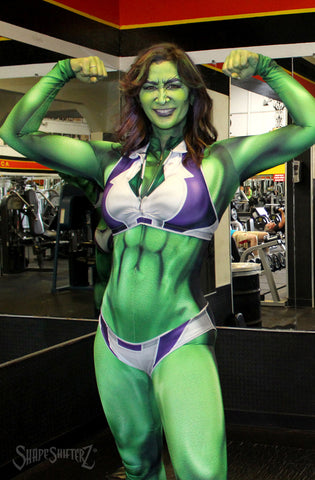 She Hulk - Inspired Cosplay - DIY