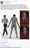 Full Bodysuit (Zips Up In The Back) - Custom Costume For KCRW MUSIC DIRECTOR JASON BENTLEY
