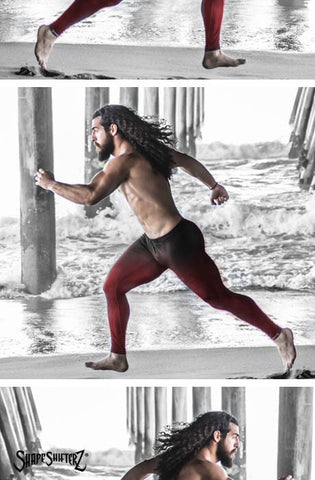 Leggings - Men's 'MEGA' Leggings -- Compression And Style