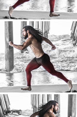 Men's 'MEGA' Leggings -- Compression and Style