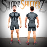 Singlet - Men's 'MEGA Ii' Weightlifting Singlet - Sleeveless Or With Sleeves - 5 Color Options