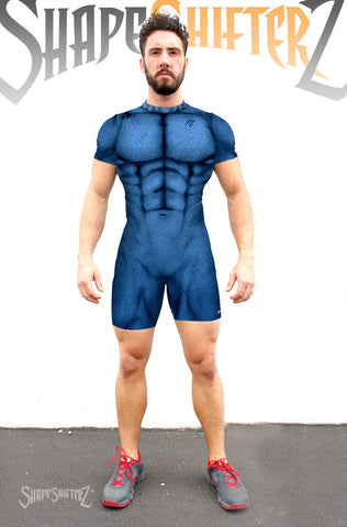 Men's 'MEGA ii' Weightlifting Singlet - Sleeveless or with sleeves - 5 color options