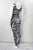 Women's 'ZEBRA' sleeveless catsuit