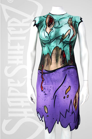 Woman's ShapeShifterZ® 'ZOMBIE DRESS'