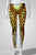 leopard print leggings back tail printed on Dye-sublimated faux animal