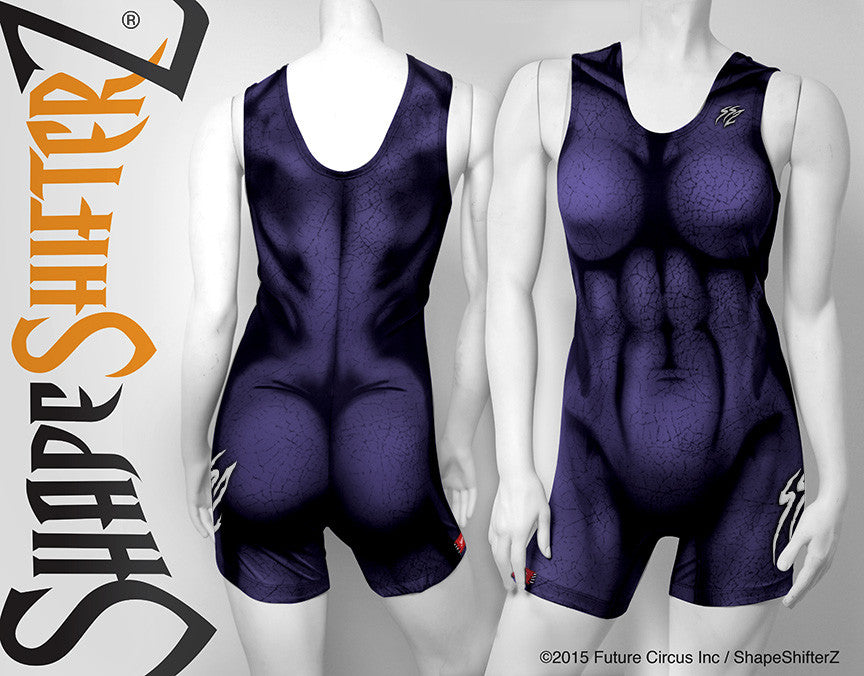 Women's 'MEGA' Weightlifting Singlet  -- 3 color options