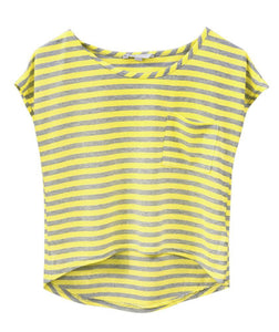 Striped Yellow T-Shirt