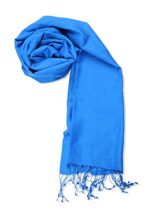 Men's Cashmere Feel Winter Solid Color Scarf