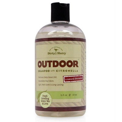 Dirty & Hairy Outdoor Shampoo with Citronella - 16 oz