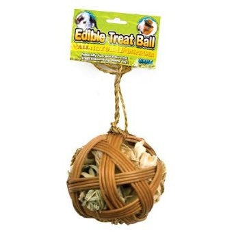 Ware Mfg - Edible Treat Ball Pocket Pet Toy