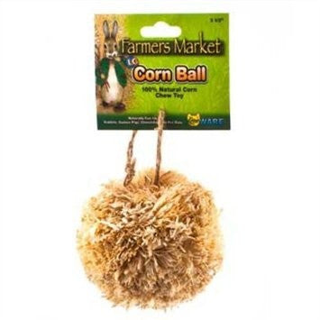 Ware Natural Corn Leaf Pocket Pet Corn Ball Toy