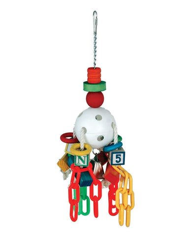 Caitec Bird Toy Play N Ball 8in x 18in