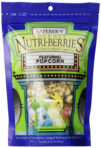 Nutriberries Popcorn Treat Cockateil