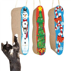 Scratch 'n Shapes Christmas  Hanging Scratcher