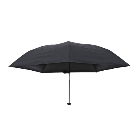 HEAT BLOCK  100% shading lightweight folding parasol Black