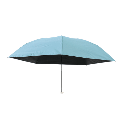 HEAT BLOCK 100% shading lightweight folding parasol Powder Blue