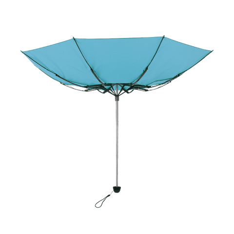 TOUGHNESS MINI Durable folding umbrella Amazonite Blue