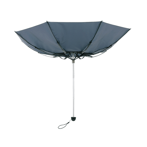 TOUGHNESS MINI Durable folding umbrella Blue Tiger's eye