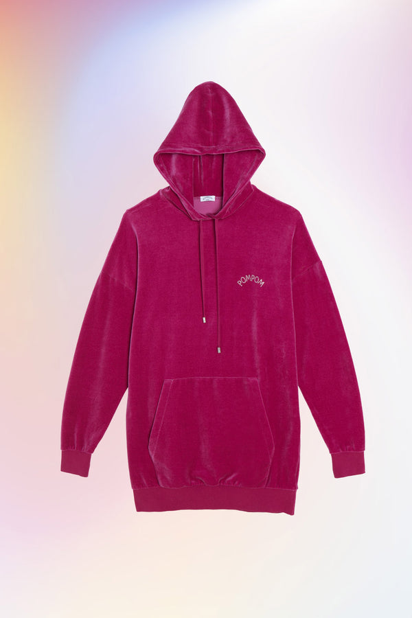Hoody long INVITEE - POMPOM PARIS