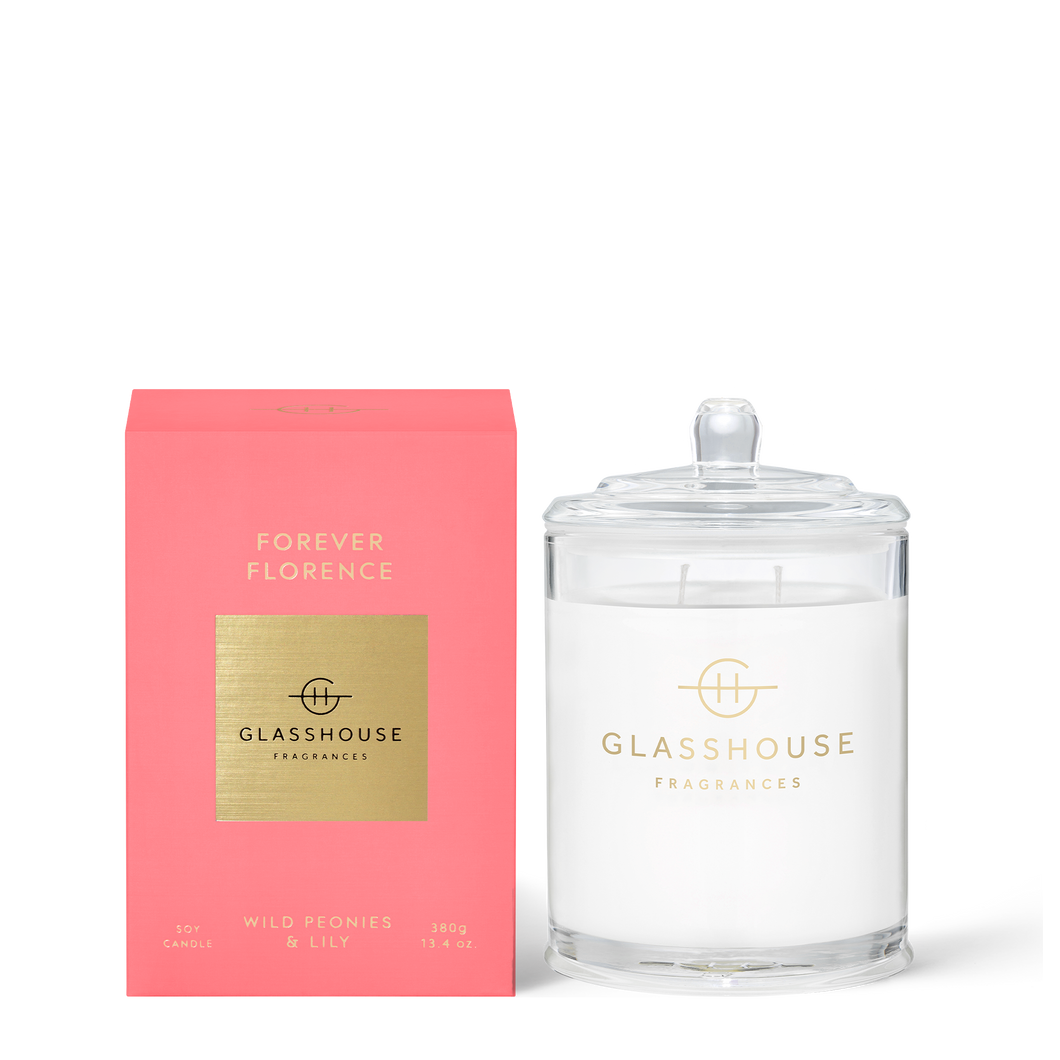 Glasshouse Candle Forever Florence Luxe Gift & Decor