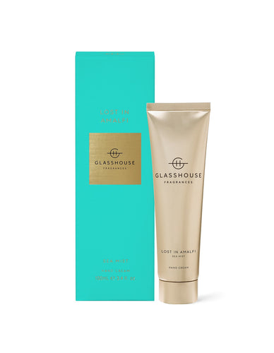 Glasshouse Hand Cream Lost In Amalfi Luxe Gift & Decor