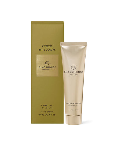 Glasshouse Hand Cream Kyoto In Bloom Luxe Gift & Decor