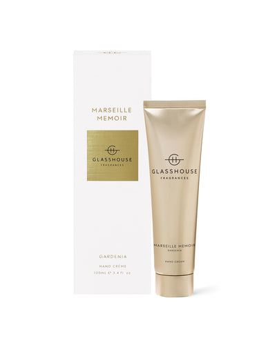 Glasshouse Hand Cream Marseille Memoir Luxe Gift & Decor