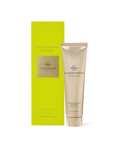 Glasshouse Hand Cream Montego Bay Rhythm Luxe Gift & Decor