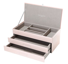 Load image into Gallery viewer, GABRIELLA BLUSH LARGE JEWELLERY BOX  Luxe Gift & Decor