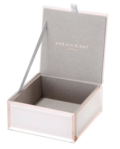 FLORENCE BLUSH SMALL JEWELLERY BOX Luxe Gift & Decor