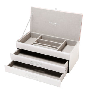 GABRIELLA LATTE LARGE JEWELLERY BOX Luxe Gift & Decor