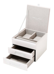 GABRIELLA LATTE SMALL JEWELLERY BOX Luxe Gift & Decor