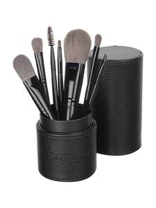 MakeUp Brush Set with Travel Case Luxe Gift & Decor