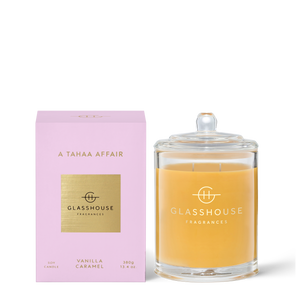 Glasshouse Candle A Tasha Affair Luxe Gift & Decor