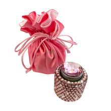 Load image into Gallery viewer, Pink diamante wine stopper Luxe gift and decor