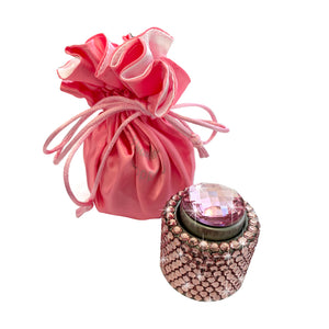 Pink diamante wine stopper Luxe gift and decor