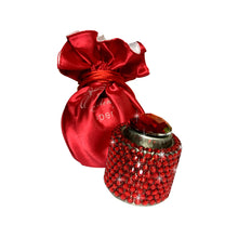 Load image into Gallery viewer, Red diamante wine stopper Luxe gift and decor