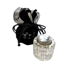 Load image into Gallery viewer, Silver diamante wine stopper Luxe gift and decor