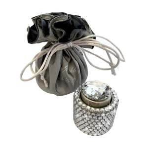 Silver diamante wine stopper Luxe gift and decor