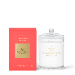 Glasshouse Candle One Night In Rio Luxe Gift & Decor