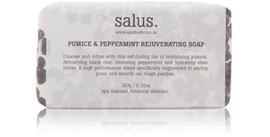 Salus Pumice & Peppermint Rejuvenating Soap Luxe Gift & Decor