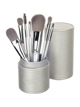 Load image into Gallery viewer, MakeUp Brush Set with Travel Case Luxe Gift & Decor