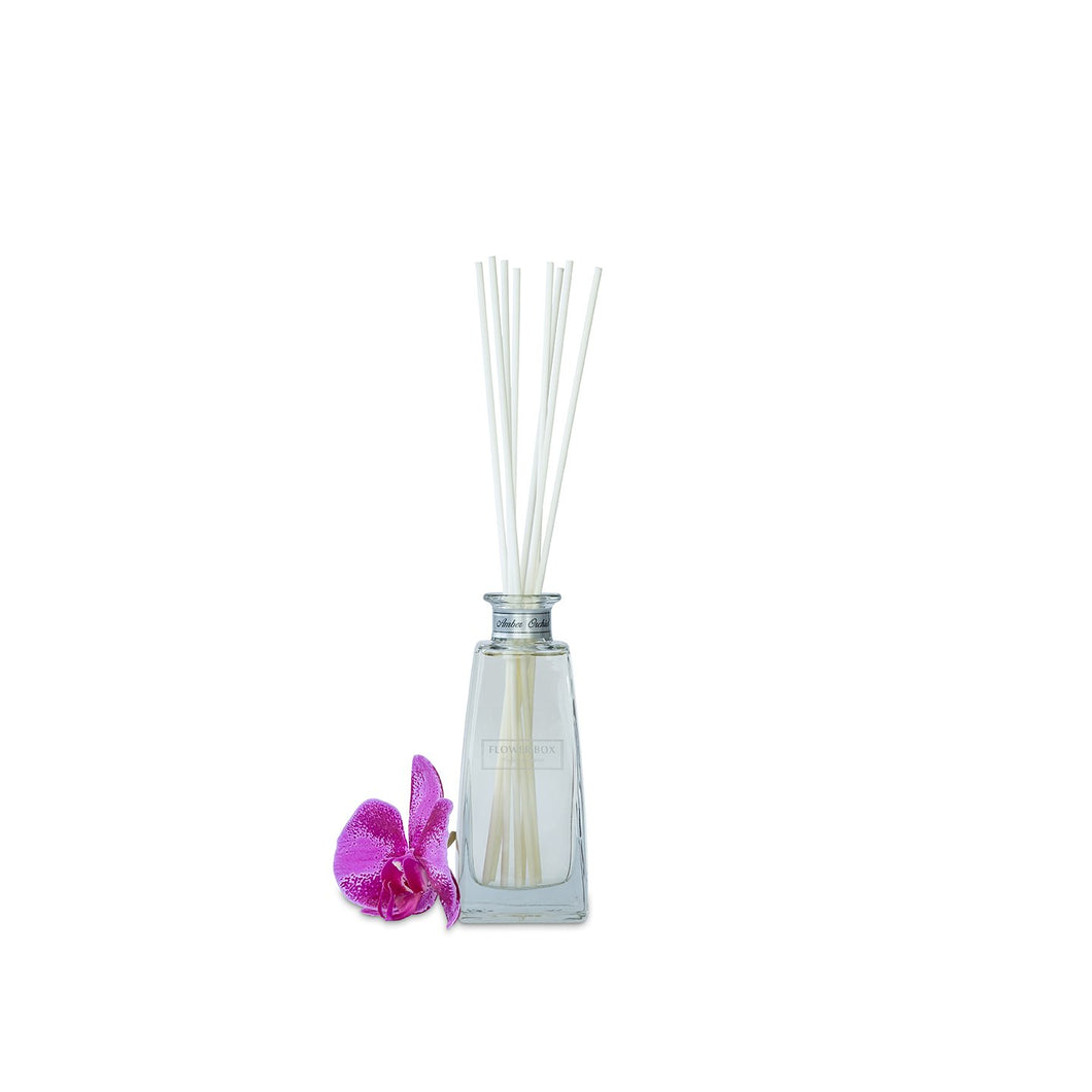 Flower Box Mini Diffuser Amber Orchid Luxe Gift & Decor