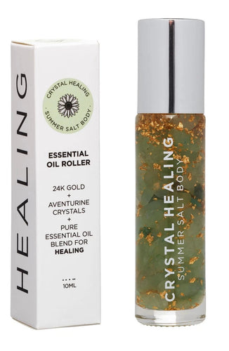 Healing Essential Oil Roller - 10ml Luxe Gift and Decor