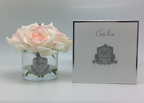 CÔTE NOIRE PERFUMED NATURAL TOUCH 5 ROSES - PINK BLUSH Luxe Gift & Decor