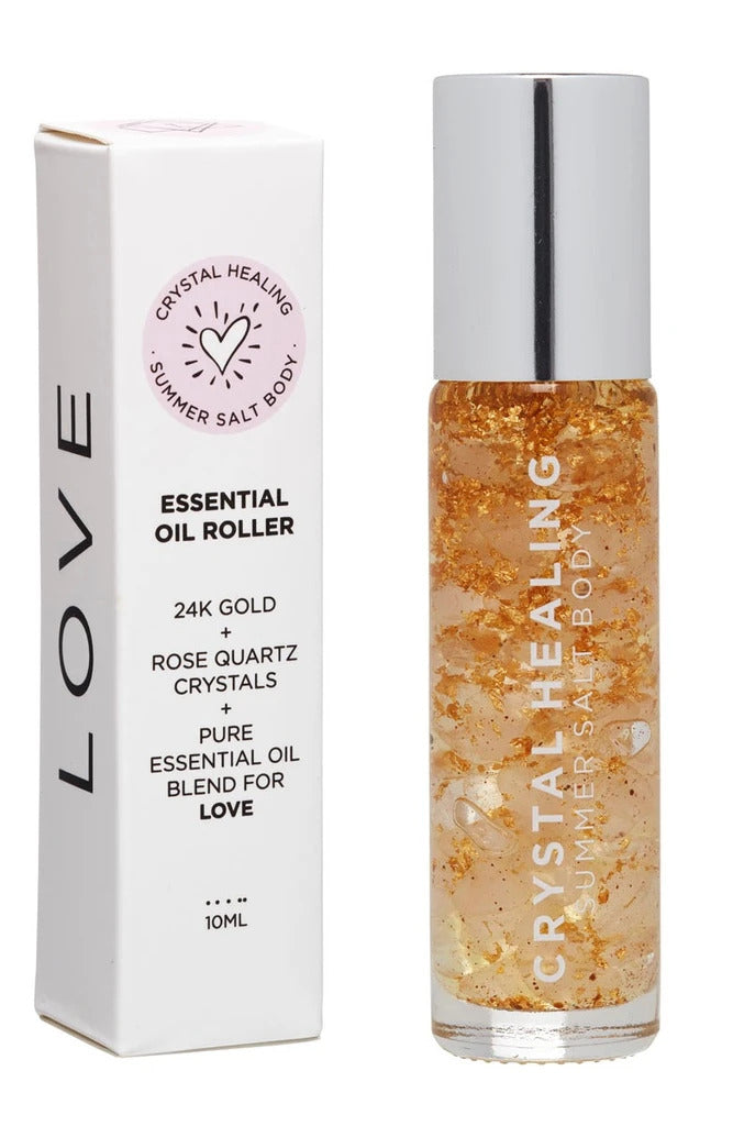 Love Essential Oil Roller - 10ml Luxe gift and decor