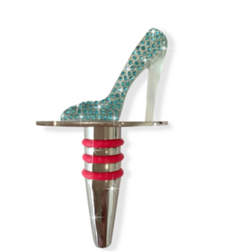 Shoe wine stopper Luxe Gift and Decor