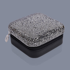 Charcoal jewellery travel case Luxe gift and decor